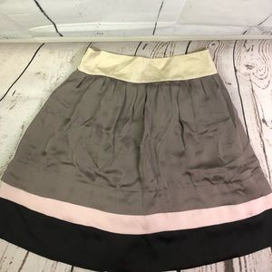 Zara Basics silk skirt